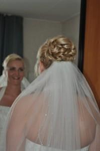bruidskapsel met lussen