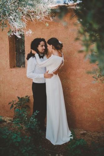 bruidskapsel opgestoken
