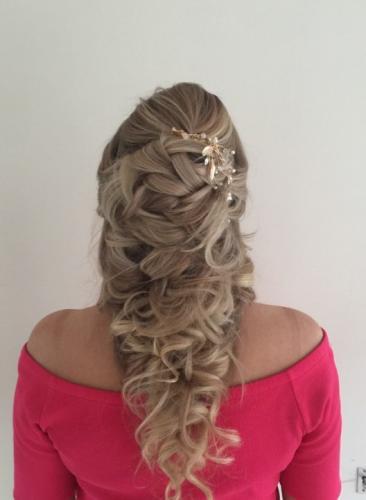 bruidskapsel lang haar 3